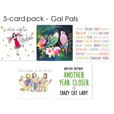 GAL PALS 5-card pack
