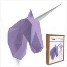 FKA002 3-D Papercraft Model Kit - Unicorn