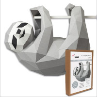 FKA003 3-D Papercraft Model Kit - Sloth