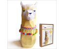 FKA006 3-D Papercraft Model Kit - Llama
