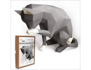 FKA007 3-D Papercraft Model Kit - Cat