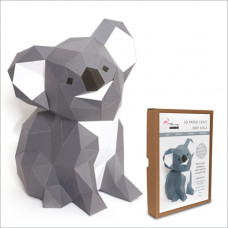 FKA008 3-D Papercraft Model Kit - Koala