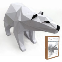 FKA009 3-D Papercraft Model Kit - Polar Bear
