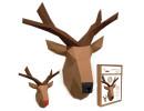 FKA0011 3-D Papercraft Model Kit - Reindeer