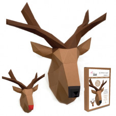 FKA0011 3-D Papercraft Model Kit - Reindeer