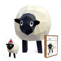 FKA014 3-D Papercraft Model Kit - Sheep