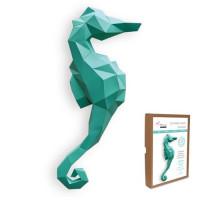FKA017 3-D Papercraft Model Kit - Seahorse