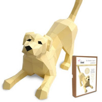 FKA018 3-D Papercraft Model Kit - Labrador