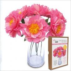 FKC001 Floral Papercraft Kit - Peonies