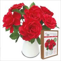 FKC002 Floral Papercraft Kit - Roses