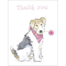 B025 Doggie Thank You Gift Card
