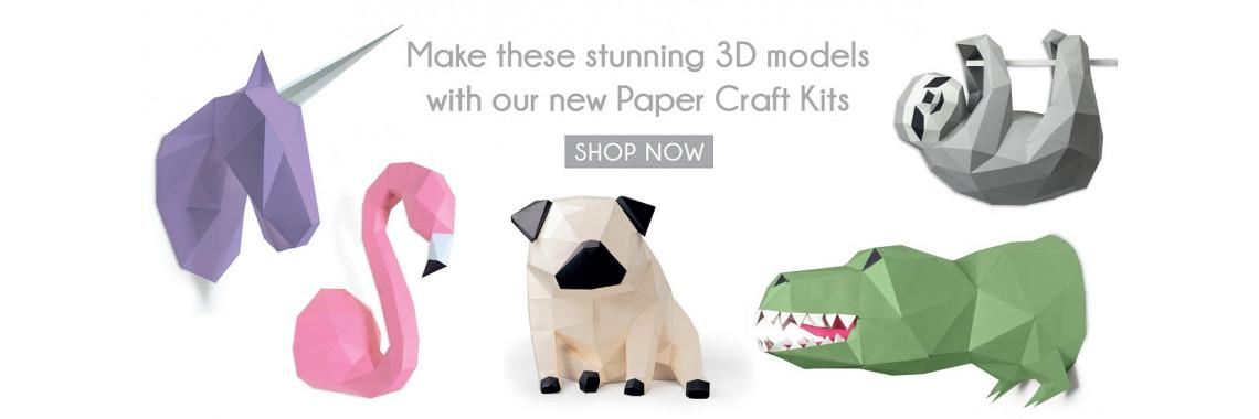 3D Papercraft Kits