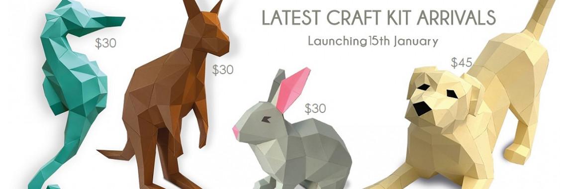 New 3D Papercraft Kits