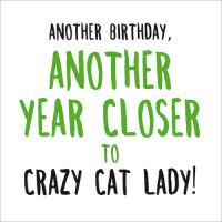 FP5028 Crazy Cat Lady!