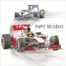 FP5154 Racing Cars (Happy Birthday)