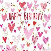 FP6127 Happy Birthday Hearts