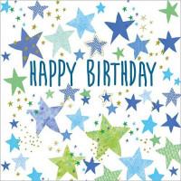 FP6128 Happy Birthday Stars
