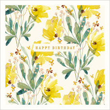 FP6239 Yellow Flowers Birthday