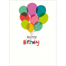 FP7057 Floating Balloons Happy Birthday