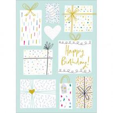 FP7086 Presents Happy Birthday
