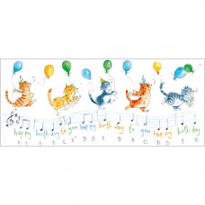 FP8003 Happy Birthday Musical Notes