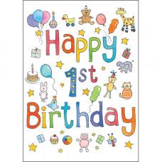 JA04 Happy 1st Birthday