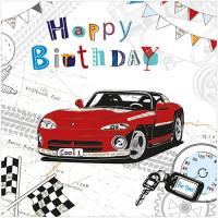 S295 Birthday Sports Car