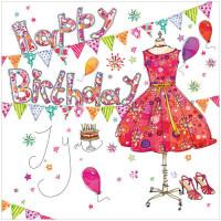 WS461 Happy Birthday Dress
