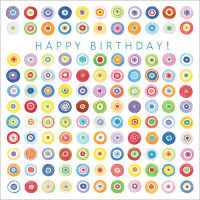 S105 Happy Birthday Circles