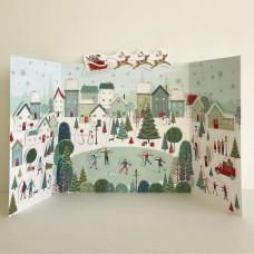 XADV05 Winter Village Advent Calendar