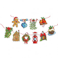 XMB002 Christmas Decorations Bunting