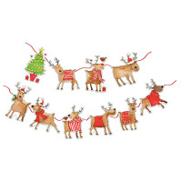 XMB003 Rudolph and Friends Bunting