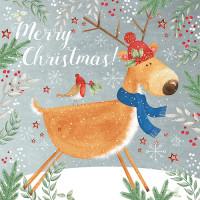 XC047 Merry Christmas Reindeer (Pk 8)
