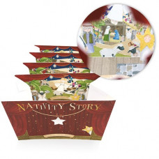 XM006 Nativity Story Peepshow DIY Card