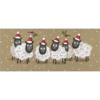 XC075 Christmas Sheep (Pk 8)