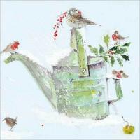 XC084 Birds in the Snow (Pk 8)
