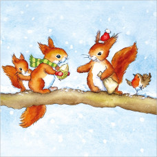 XC107 Little Squirrels (Pk 8)