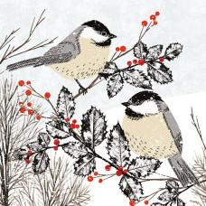 XC117 Birds in the Snow (Pk 8)
