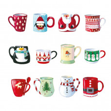 XC120s Festive Christmas Mugs (Single)