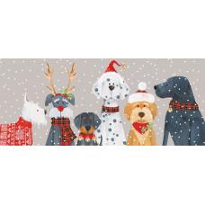 XC133 Christmas Dog Line Up (Pk 8)