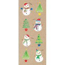 XC135s Snowmen (Single)