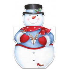 XC137 Jolly Snowman (Pk 8)