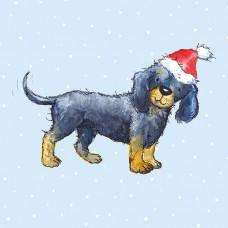 XC139 Santa Puppy! (Pk 8)