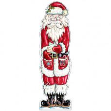 XBM01 Santa Bookmark