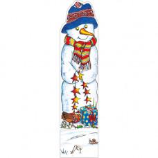 XBM02 Snowman Bookmark