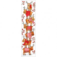 XBM03 Rudolph and Friends Bookmark