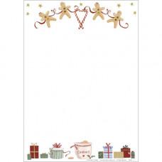 XM46 Gingerbread Stationery Set (10 x Notepaper + Envelopes)