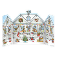 XADV03 Reindeer Stables Advent Calendar