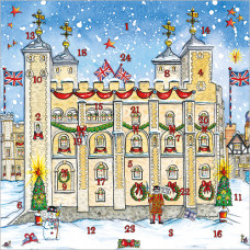 XAC14 Tower of London Advent Card
