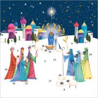 XAC17 Bethlehem Advent Card
